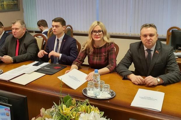 На заседании Администрации Московского района г. Минска  28 января 2020 года